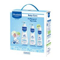 Mustela Set Gentle Cleansing Gel για το Σώμα & τα Μαλλιά & Hydra Bebe Body Lotion 300ml & Δώρο Multi Sensory Bubble Bath 200ml