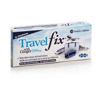 Uni-pharma Travel Fix Συμπλήρωμα Διατροφής για την Ανακούφιση από την Ναυτία των Ταξιδιωτών 10 δισκία