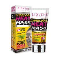 Biovene Θερμαντική Μάσκα Καθαρισμού Προσώπου Με Ενεργό Άνθρακα Για Λιπαρό/Ακνεϊκό Δέρμα 125ml