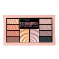 Maybelline Total Temptation Παλέτα Σκιών & Highlight 12gr