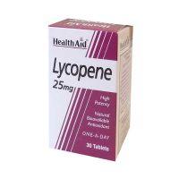 Health Aid Lycopene 25mg Ισχυρό Αντιοξειδωτικό 30 Ταμπλέτες