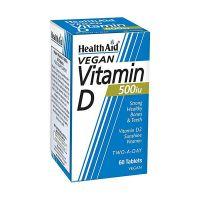 Health Aid Vitamin D3 500IU 60 Ταμπλέτες