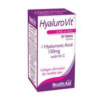 Health Aid HyaluroVit Υαλουρονικό Οξύ Με Βιταμίνη C 30 Ταμπλέτες