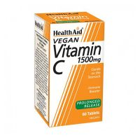 Health Aid Vitamin C 1500mg Prolonged Release Vegan 60 Ταμπλέτες