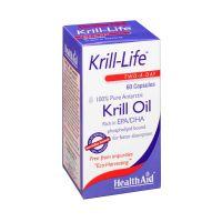 Health Aid Krill-Life Έλαιο Krill Ανταρκτικής 60 Κάψουλες