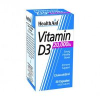 Health Aid Vitamin D3 20000IU 30 Κάψουλες