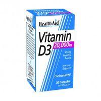 Health Aid Vitamin D3 20000IU 30 Κάψουλες