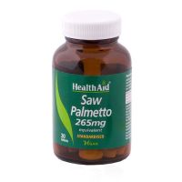 Health Aid Saw Palmetto 265mg Vegan 30 Ταμπλέτες