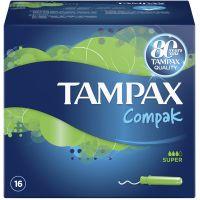 Tampax Compak Super Ταμπόν Με Απλικατέρ 16τμχ