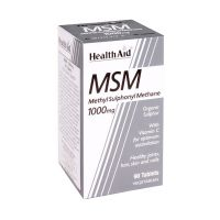 Health Aid MSM Methyl Sulphonyl Methane 1000mg 90 Ταμπλέτες