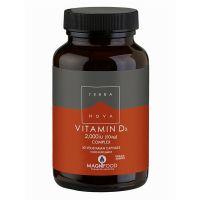Terranova Vitamin D3 2000IU (50mcg) Complex 50 Veg Caps