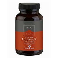 Terranova Vitamin B-Complex With Vitamin C 50 Veg Caps