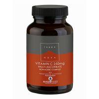 Terranova Vitamin C 250mg Multi-Ascorbate Non-Acidic Complex 50 Veg Caps
