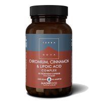 Terranova Chromium, Cinnamon & Lipoic Acid Complex 50 Veg Caps