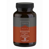 Terranova Digestive Enzymes With Probiotics 50 Veg Caps