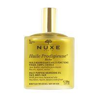 Nuxe Huile Prodigieuse Riche Πολυχρηστικό Θρεπτικό Λάδι Προσώπου/Σώματος/Μαλλιών Για Πολύ Ξηρό Δέρμα 100ml