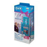 Oral-B Vitality Παιδική Ηλεκτρική Οδοντόβουρτσα Disney Frozen & ΔώροΘήκη Ταξιδίου