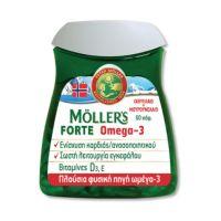 Moller's Forte Omega-3 Ιχθυέλαιο & Μουρουνέλαιο 60 Κάψουλες