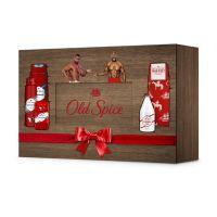 Old Spice WhiteWater Set Με 5 Προϊόντα Περιποίησης Για Τον Άντρα Σε Ξύλινο Κουτί Δώρου