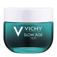 Vichy Slow Age Δροσερή Κρέμα/Μάσκα Νύχτας Επανοξυγόνωσης & Αναζωογόνησης Για Όλες Τις Επιδερμίδες 50ml