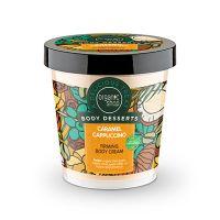 Organic Shop Body Desserts Caramel Cappuccino Κρέμα Σύσφιγξης Σώματος Καραμέλα Καπουτσίνο 450ml