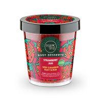 Organic Shop Body Desserts Strawberry Jam Απολεπιστικό Σώματος Για Βαθύ Καθαρισμό 450ml