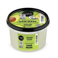 Organic Shop Hair Mask Honey & Avocado Μάσκα Μαλλιών Για Γρήγορη Επανόρθωση 250ml