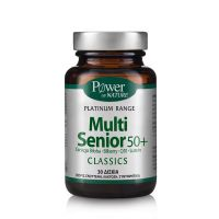 Power Health Platinum Range Classics Multi Senior 50+ 30 Δισκία