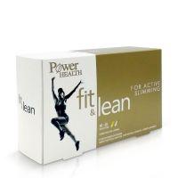 Power Health Fit & Lean Συμπλήρωμα Διατροφής Για Αδυνάτισμα 30+30 Κάψουλες