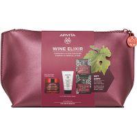 Apivita Set Wine Elixir Αντιρυτιδική Κρέμα Προσώπου Για Σύσφιξη & Lifting Πλούσιας Υφής Για Κανονικές/Ξηρές Επιδερμίδες 50ml & Δώρο Γαλάκτωμα Καθαρισμού Προσώπου/Ματιών 3 Σε 1 50ml & Express Beauty Αντιρυτιδική & Συσφιγκτική Μάσκα Προσώπου Mε Σταφύλι 2*8m