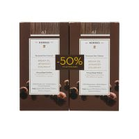Korres Set Argan Oil Advanced Colorant Μόνιμη Βαφή Μαλλιών 6.1 Ξανθό Σκούρο Σαντρέ 2τμχ -50% Στη 2η Βαφή