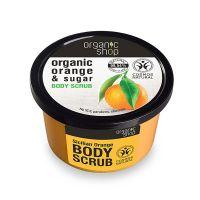 Organic Shop Body Scrub Σώματος Με Πορτοκάλι & Ζάχαρη 250ml