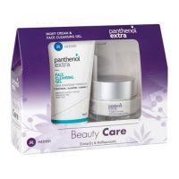 Panthenol Extra Beauty Care Set Με Κρέμα Προσώπου Νυκτός Για Σύσφιξη & Αναδόμηση 50ml & Τζελ Καθαρισμού Προσώπου Για Όλες Τις Επιδερμίδες 150ml