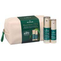 Nuxe Set Με Nuxuriance Ultra Ορός Προσώπου Για Ολική Αντιγήρανση & Ενίσχυση Της Πυκνότητας Του Δέρματος 30ml & Δώρο Κρέμα Για Τα Μάτια & Το Περίγραμμα Των Χειλιών Για Ολική Αντιγήρανση 15ml & Premium Νεσεσέρ