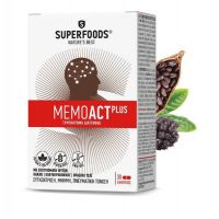 Superfoods Memoact Plus Συμπλήρωμα Διατροφής για Μνήμη/Συγκέντρωση 30caps