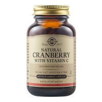 Solgar Cranberry Extract with Vitamin C 60 φυτικές κάψουλες