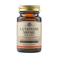 Solgar L-Cysteine 500mg 30 φυτικές κάψουλες