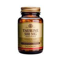 Solgar Taurine 500mg 50 φυτικές κάψουλες