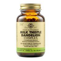 Solgar Milk Thistle Dandelion Complex Ενισχυμένα Φυτικά Εκχυλίσματα 50 Veg. Caps