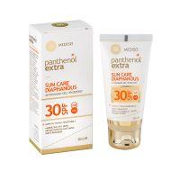 Panthenol Extra Sun Care Diaphanous Αόρατο Αντηλιακό Τζελ Προσώπου Spf30 50ml