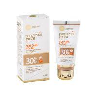 Panthenol Extra Sun Care Αντηλιακό Τζελ Προσώπου Με Χρώμα Spf30 50ml
