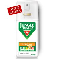 Jungle Formula Strong Soft Care Απωθητικό Κουνουπιών Με IRF3 75ml
