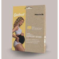 Carriwell Seamless Maternity Support Band Υποστηρικτική Ζώνη Εγκυμοσύνης Χωρίς Ραφές Λευκό σε 4 μεγέθη S/M/L/XL