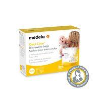 Medela Quick Clean Σακουλάκια Αποστείρωσης Μικροκυμάτων, 5τμχ