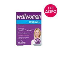 Vitabiotics Wellwoman Original 30 ταμπλέτες 1+1 Δώρο