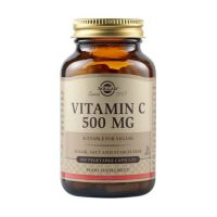 Solgar Vitamin C 500mg 100 φυτικές κάψουλες
