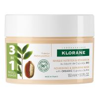 Klorane Μάσκα Θρέψης & Επανόρθωσης Με Βούτυρο Κουπουασού 3σε1 Για Ξηρά & Κατεστραμμένα Μαλλιά 150ml