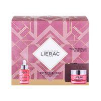 Lierac Supra Radiance Set Δώρου Με Ορό Αποτοξίνωσης Προσώπου Για Αντιγήρανση & Λάμψη 30ml & Δώρο Κρέμα-Τζελ Προσώπου Ενεργοποίησης Λάμψης Για Κανονικό/Μεικτό Δέρμα 50ml & Δερμάτινο Πορτοφόλι
