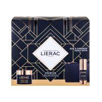 Lierac Premium Set Δώρου Με Κρέμα Προσώπου Ελαφριάς Υφής Για Ολική Αντιγήρανση 50ml & Δώρο Κρέμα Ματιών Απόλυτης Αντιγήρανσης 15ml & Δερμάτινο Πορτοφόλι