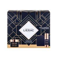 Lierac Premium Set Δώρου Με Κρέμα Προσώπου Απόλυτης Αντιγήρανσης & Άνεσης 50ml & Δώρο Κρέμα Ματιών Απόλυτης Αντιγήρανσης 15ml & Δερμάτινο Πορτοφόλι